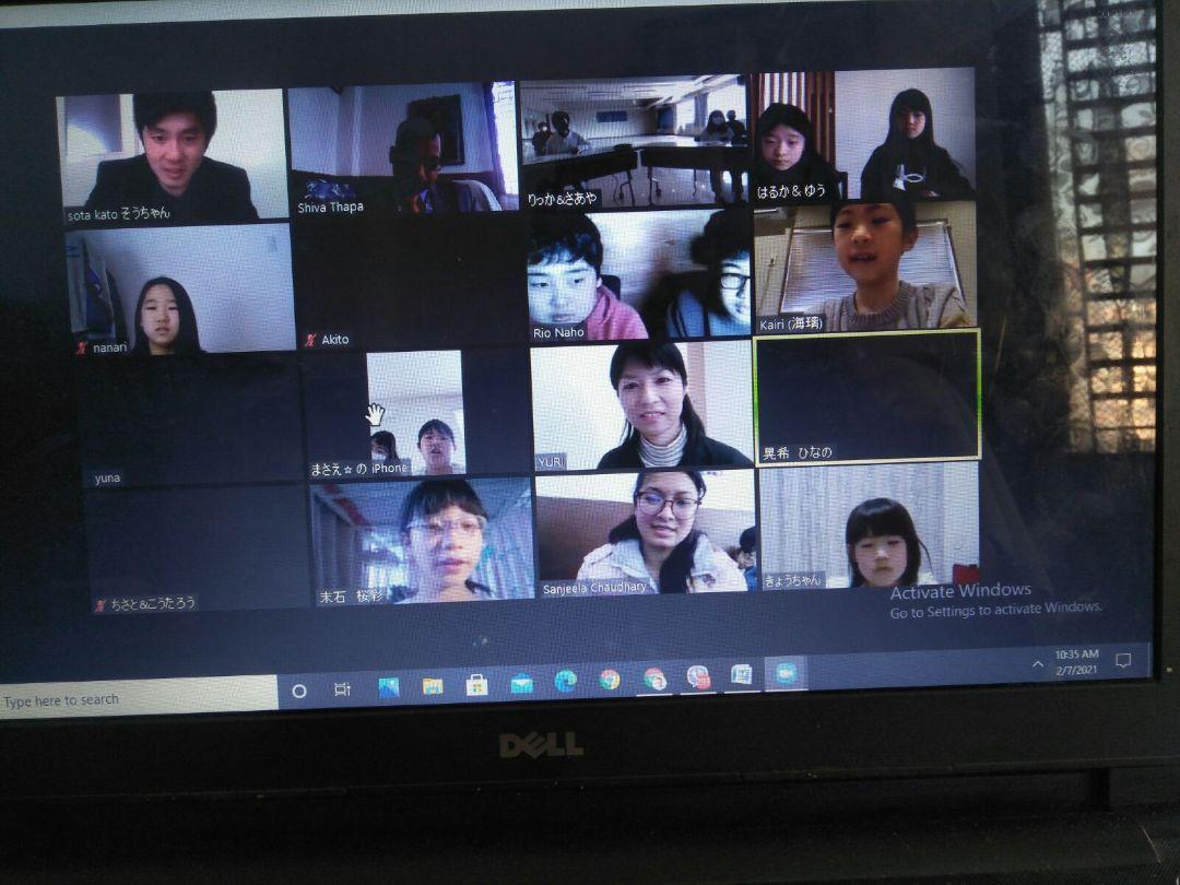 Nirmal Batika Academy : Student's  Interaction