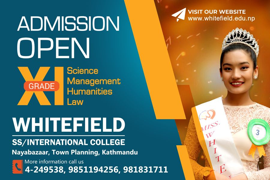 Admission Open for Grade XI Science/Management/Humanities