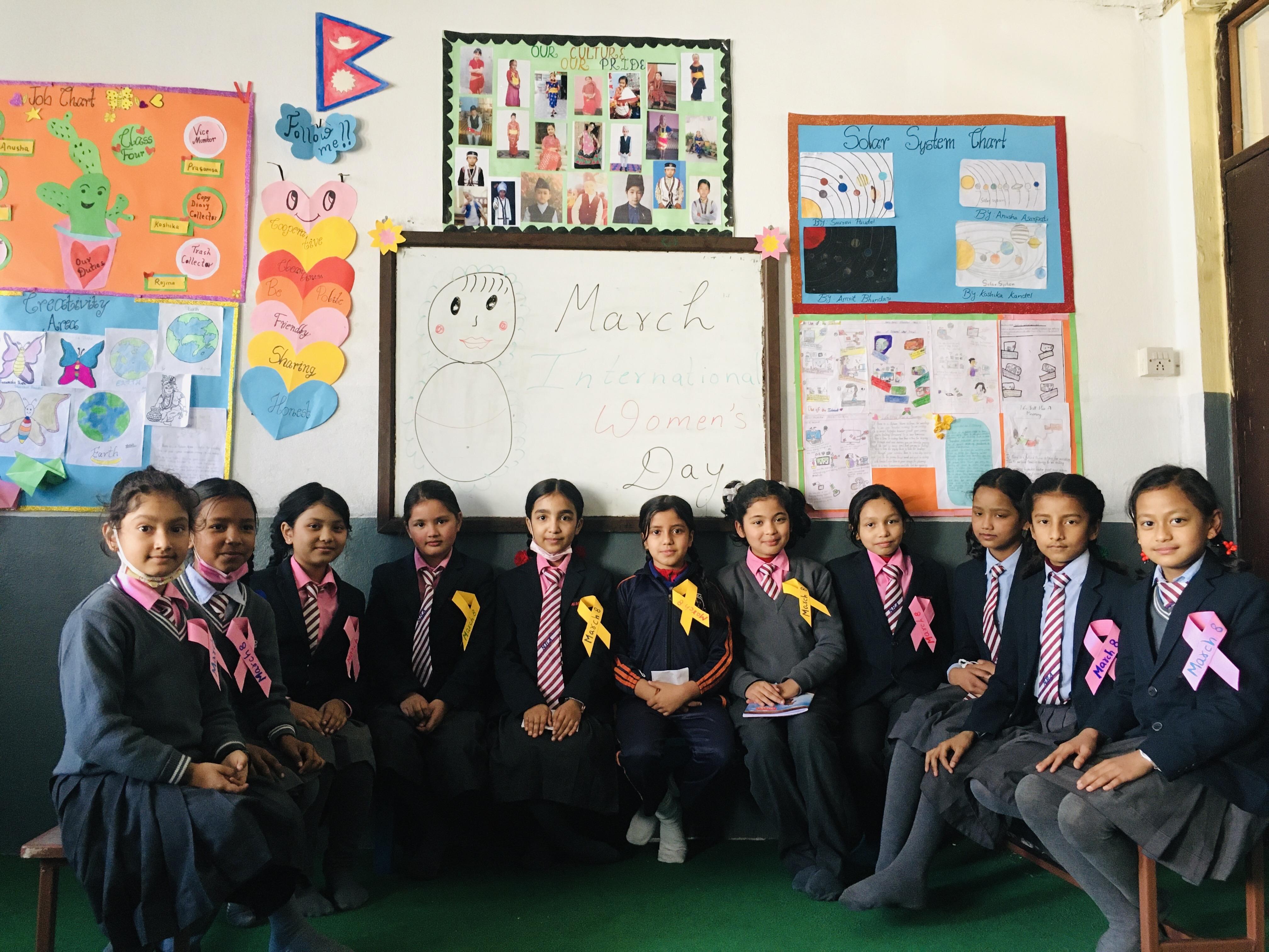 Nirmal Batika Academy : International women's day 2021