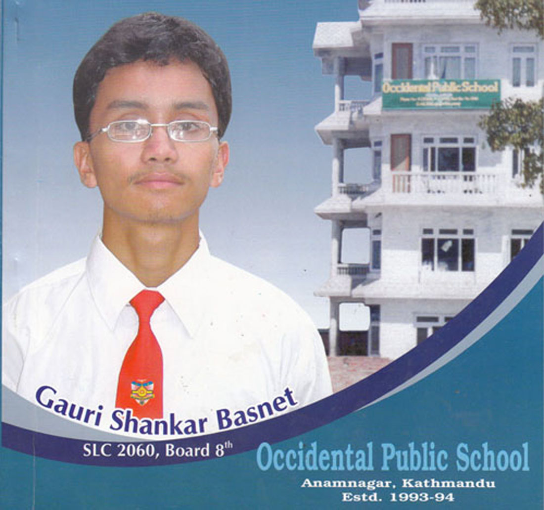 Board 8th in SLC Examination