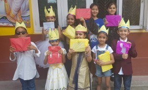 Children day prize winners in Dance Competition.
