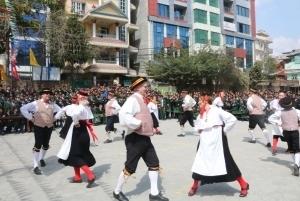 Estonian Dance Group Visit to OPS 2076