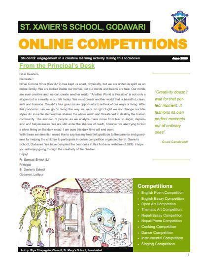 Online Competition (Magazine) - Webzine